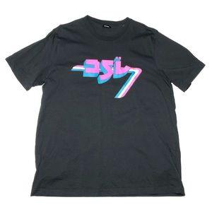Diesel Japanese Graphic Print T-Shirt